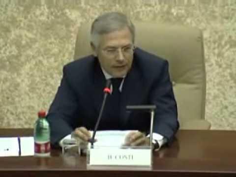 Introduzione e saluto del Presidente del Club dell'Economia Bruno Costi