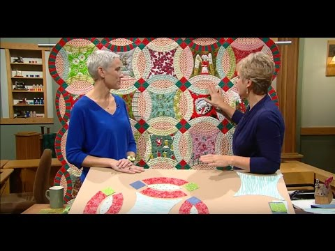 Sewing With Nancy - Double Wedding Ring Quilts, Part 2