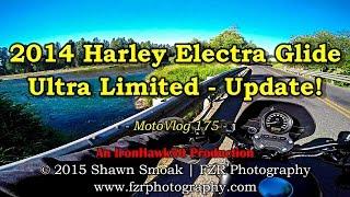 9. 2014 Harley Electra Glide Ultra Limited Update! | Iron 883 | MotoVlog 175