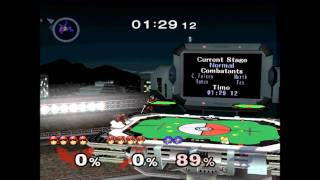 One of the best superplays I've seen (C. Falcon and Marth perfect doubles match) [TAS]