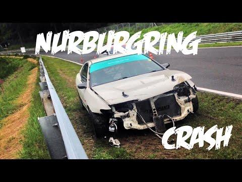 I crashed at the Nürburgring.