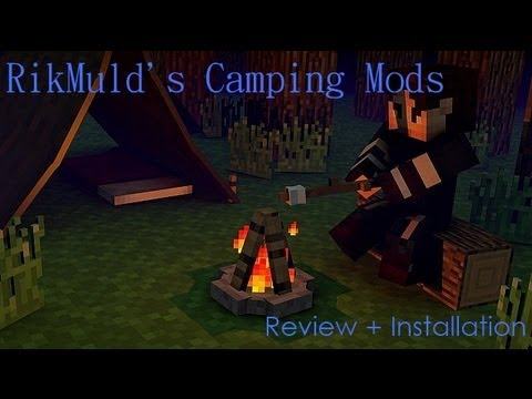 Minecraft: RikMuld's Camping Mod Review + Installation