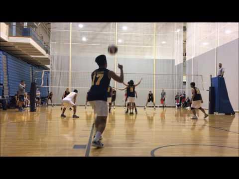 3-4 UCI vs.  SDSU Mens Club Volleyball S1