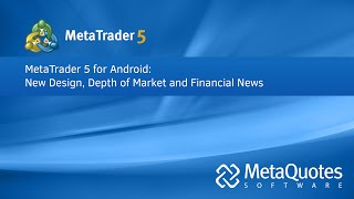 MetaTrader 5 YouTube video