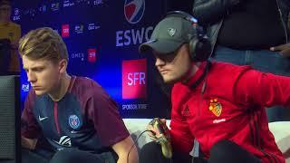 ESWC PGW Fifa 18 Challenge Final - DaXe vs Cody