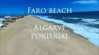 Faro Portugal  city pictures gallery : Faro beach, Portugal, Algarve, 2016 April, Bebop 2, aerial