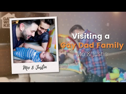 Visiting a Gay Dad Family: Mo & Justin (видео)