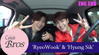 "Video Ryeowook(Super Junior) & Hyungsik(ZE:A), Celeb Bros S3 EP1 ""Temptation of wolves"" MP3, 3GP, MP4, WEBM, AVI, FLV April 2019"