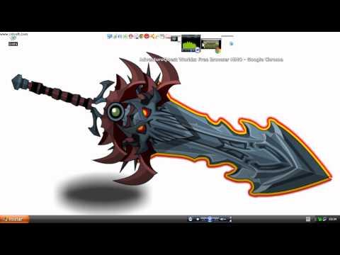 como conseguir espada rara no aqw