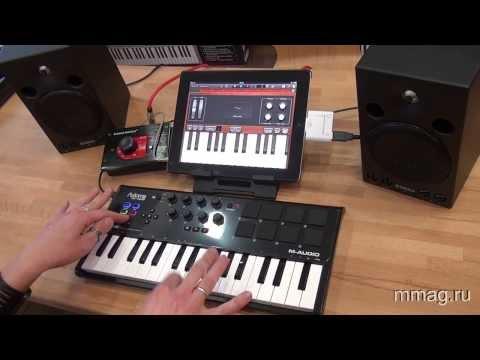 M audio axiom air mini снимок