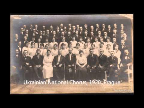 Запис «Щедрика», написаної композитором Миколою Леонтовичем в 1901 році