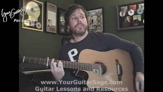 Such Great Heights - The Postal Service - Lefty Beginner Acoustic Guitar Lesson