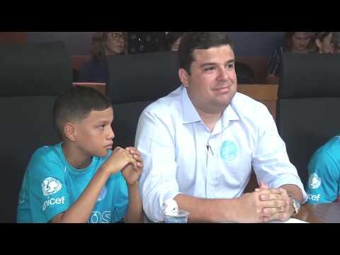 Dia Mundial da Criança: gestores mirins assumem cargos administrativos