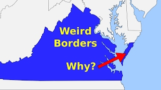 Video Weird Borders: State Borders of the United States of America MP3, 3GP, MP4, WEBM, AVI, FLV Juli 2018