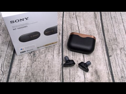 """Sony WF-1000XM3 Truly Wireless Noise Cancelling Earbuds """"Real Review"""""""