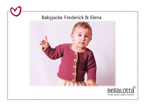 Babyjacke einfach stricken – mit BellaLotta