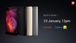 2017 Redmi Note 4 Product Launch Event Summary