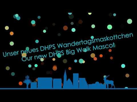DHPS Wandertag: Maskottchen - DHPS Big Walk: Mascot