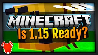 Minecraft 1.15 Releases TOMORROW! Is It Ready? •