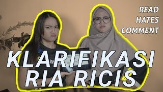 Video KLARIFIKASI RIA RICIS DAN AUREL HERMANSYAH TENTANG COMMENT NETIZEN MP3, 3GP, MP4, WEBM, AVI, FLV Juni 2019