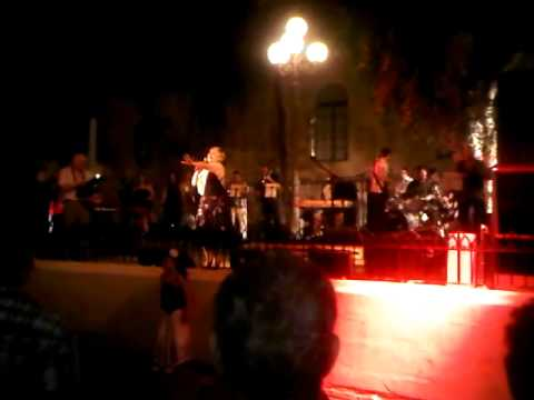 Singer (UK) &#8211; Notte Bianca &#8211; All night long Valletta, 29th September 2012, Malta