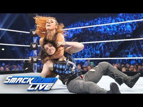 Nikki Cross vs. Becky Lynch: SmackDown LIVE, Nov. 6, 2018