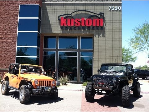 Kustom Koachworks, Inc. Joins National Team Revamping a Moore, OK Jeep