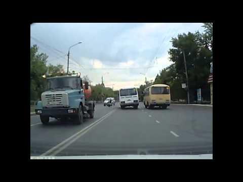 Авария с Мотоциклистом в Оренбурге