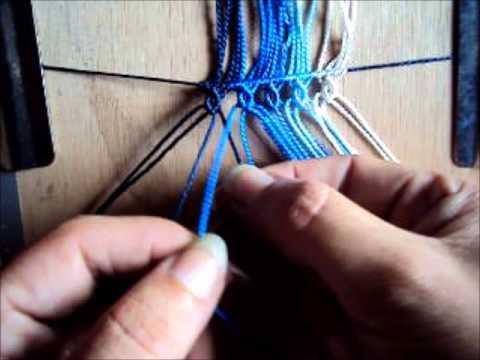 Macramé - Muestra de tejido - Macrame sample