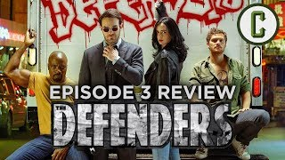 The forces of TV Talk and Heroes collide to bring you the season 1 episode 3 review of The Defenders, with Josh Macuga, David Griffin, and Jon Schnepp. Please note that this show begins with a non-spoiler summation and launches into a spoiler heavy review.  Follow Josh on twitter - @joshmacugaFollow David on Twitter - @griffindeFollow Schnepp on  Twitter - @jonschneppFollow us on Twitter: https://twitter.com/ColliderVideoFollow us on Instagram: https://instagram.com/ColliderVideoFollow us on Facebook: https://facebook.com/colliderdotcomAs the online source for movies, television, breaking news, incisive content, and imminent trends, COLLIDER is a more than essential destination: http://collider.comFollow Collider.com on Twitter: https://twitter.com/ColliderSubscribe to the SCHMOES KNOW channel: https://youtube.com/schmoesknowCollider Show Schedule:- MOVIE TALK: Weekdays  http://bit.ly/29BRtOO- HEROES: Weekdays  http://bit.ly/29F4Job- MOVIE TRIVIA SCHMOEDOWN: Tuesdays & Fridays  http://bit.ly/29C2iRV - TV TALK: Mondays  http://bit.ly/29BR7Yi - COMIC BOOK SHOPPING: Wednesdays  http://bit.ly/2spC8Nn- JEDI COUNCIL: Thursdays  http://bit.ly/29v5wVi - COLLIDER NEWS WITH KEN NAPZOK: Weekdays  http://bit.ly/2t9dNIE- BEST MOVIES ON NETFLIX RIGHT NOW: Fridays  http://bit.ly/2txP3gn- BEHIND THE SCENES & BLOOPERS: Saturdays  http://bit.ly/2kuLuyI- MAILBAG: Weekends  http://bit.ly/29UsKsd