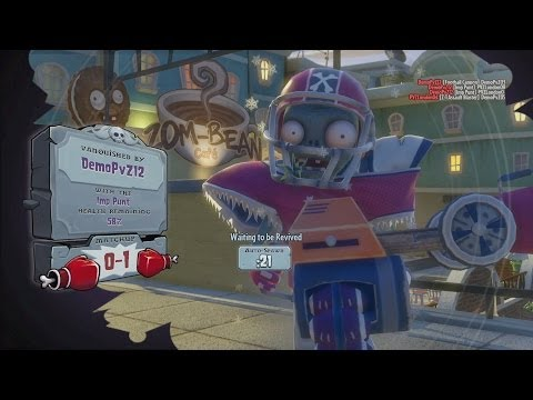 Plants vs. Zombies Garden Warfare gameplay & commentary