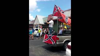 Burlington (NC) United States  city photos : Burlington North Carolina Confederate flag rally