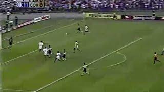 Primeiro gol na decisão do Brasileirão 99 aos 15 segundos de jogo. Narração: Willy Gonser.