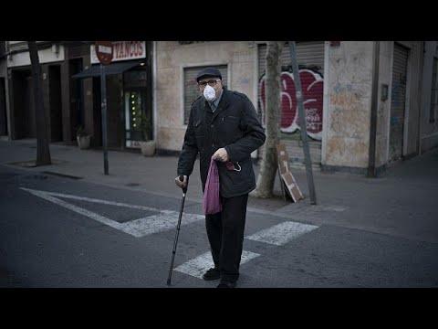 Ισπανία: 769 νεκροί σε ένα 24ωρο – Σχεδόν 8.000 τα νέα κρούσματα…