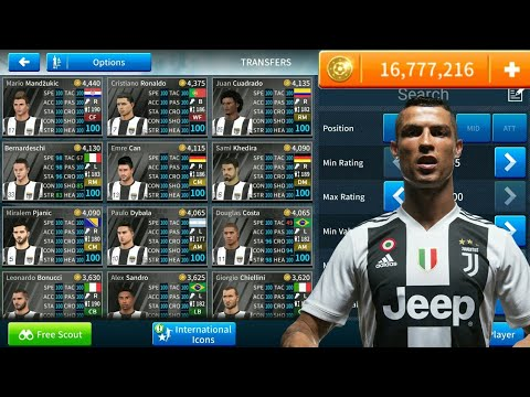 Cara Hack Team Juventus Semua Pemain 100 & Cheat Coin 16 Juta Di Dream League Soccer 2019