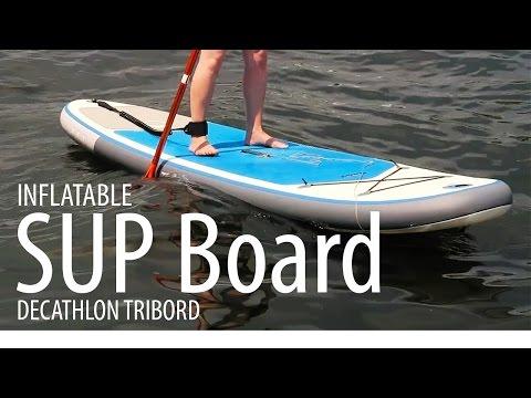 SUP BOARD - DECATHLON TRIBORD (AUFBLASBAR)