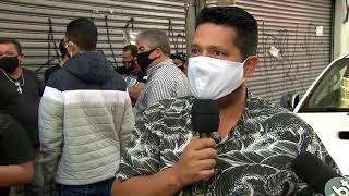 Sorocaba se mantém na fase vermelha e comerciantes protestam