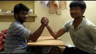Iit Kanpur arm wrestling