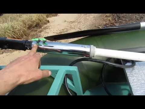 Как сделать румпель на лодочный мотор своими руками видео