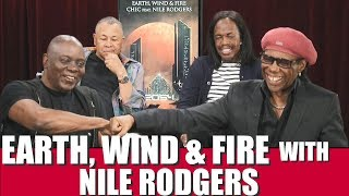 EARTH, WIND & FIRE Interview w/NILE RODGERS ! Philip Bailey on Phil Collins, Diana Ross, Hitmaker