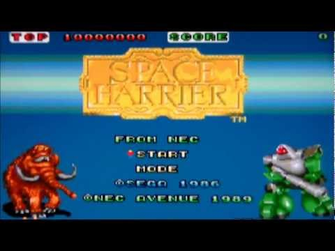 space harrier pc engine rom