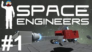 Space Engineers: Build Your Own Spaceship! - Santa's Space Sleigh! (Part 1)