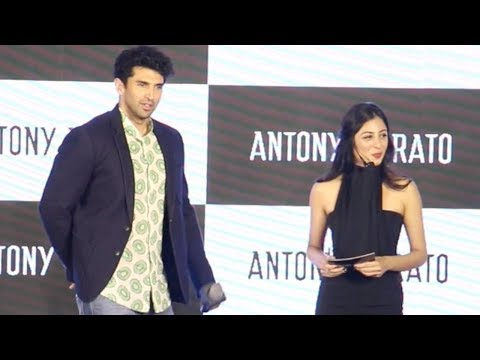 Aditya Roy Kapur At The Launch Of Italian brand An