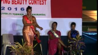 Kiribati Beauty Contest 2016 finale.