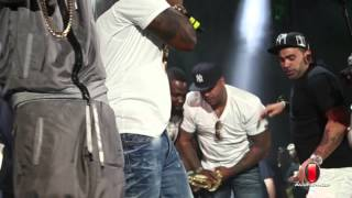 EXCLUSIVE: 50 Cent Has Slowbucks Chain Snatched At Summer Jam 2014