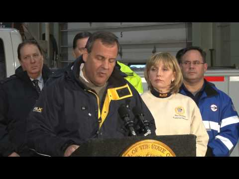 Governor Christie: There's Gonna Be A Lotta Snow