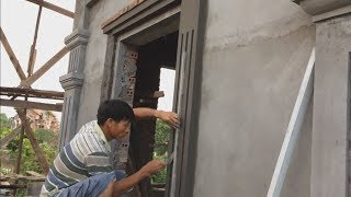 Video Construction | Beautiful Windows - Rendering Sand and Cement - great building tips MP3, 3GP, MP4, WEBM, AVI, FLV Agustus 2018