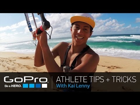 GoPro Athlete Tips and Tricks: Mounting a GoPro for Kitesurfing with Kai Lenny (Ep 9)