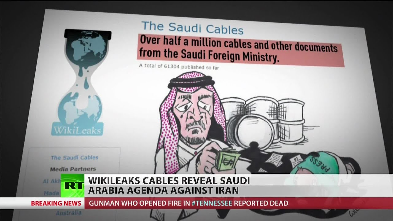 Saudi Arabia's obsession with Iran exposed by WikiLeaks #EsperanzaMia