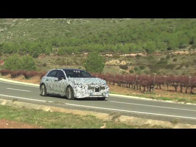 2018 Mercedes-Benz A Class Spy Video